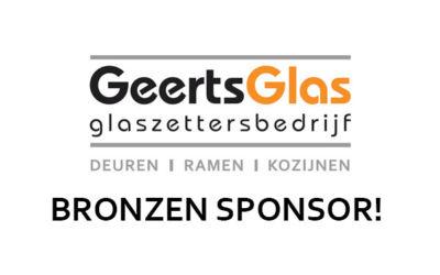 Geerts Glas is Bronzen Sponsor!