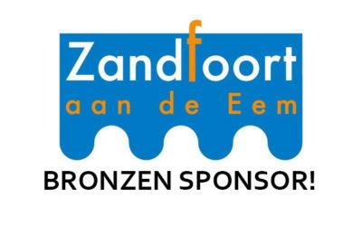 Zandfoort aan de Eem is Bronzen Sponsor!